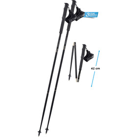 Komperdell Carbon.FXP Trail Poles Foldable black